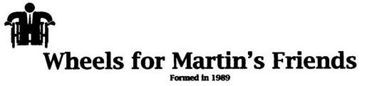 Wheels for Martin's friends logo