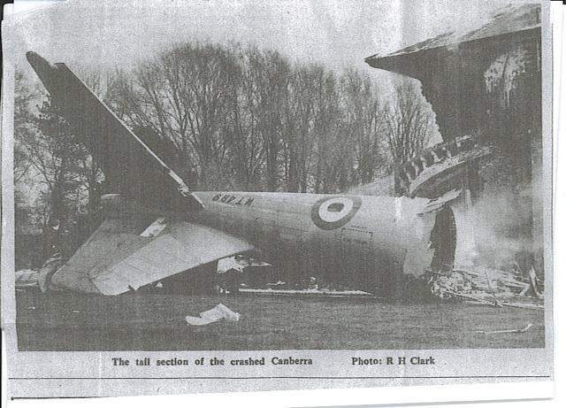 Canberra Crash Steeple Morden 1967 P3