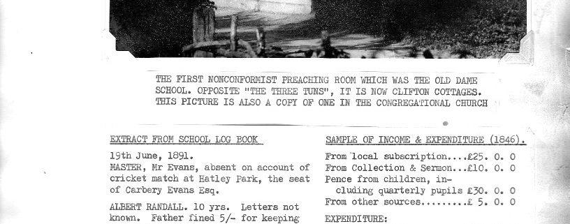 extract-from-guilden-morden-school-s-log-book