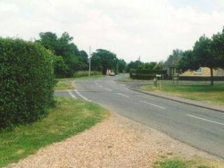 Fox Hill Road towards Potton Road now