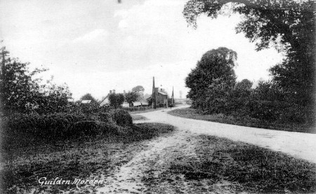Fox Hill Road towards Potton Road