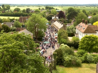From St Mary's Church tower