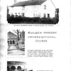 Guilden Morden Congregational Church