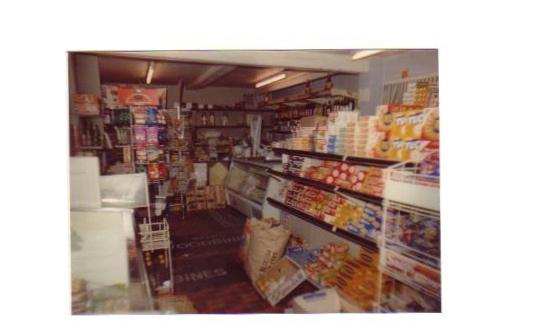 Inside Guilden Morden's Post Office circa 1970 - 2