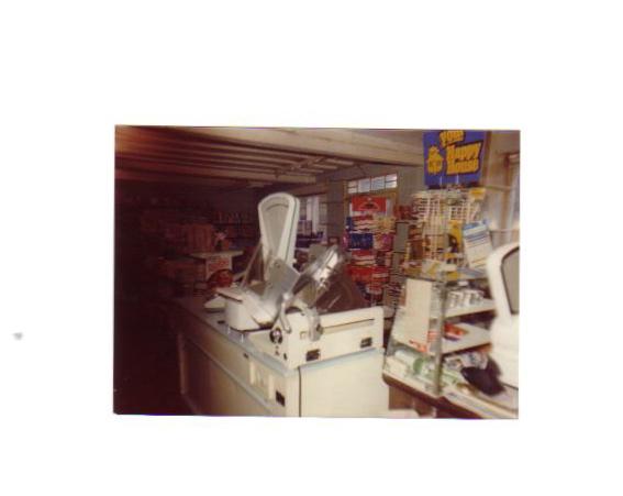 Inside Guilden Morden's Post Office circa 1970