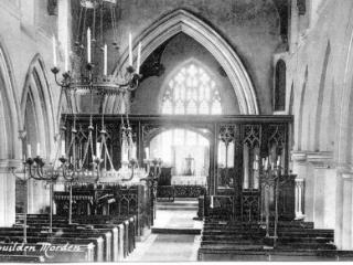 Interior of St Mary's Church