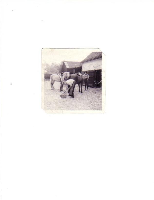 Oswald Kaye, blacksmith 1972