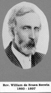 Rev. W. de Bruen Brewin