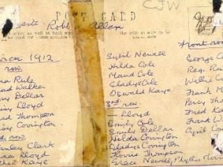 Schoolchildren's names