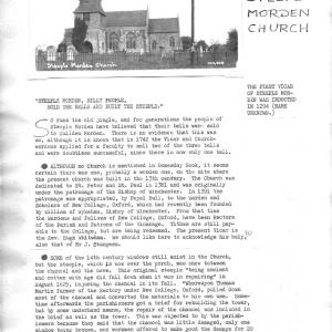 Steeple Morden Church p1