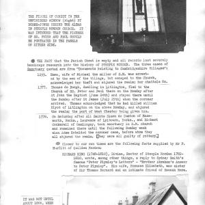 Steeple Morden Church p2