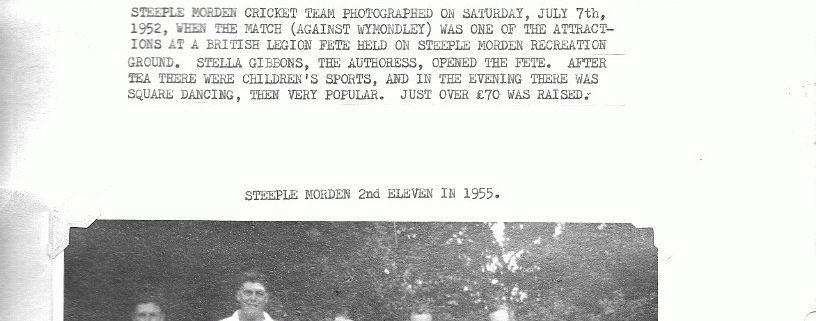 steeple-morden-cricket-team-1952-1955