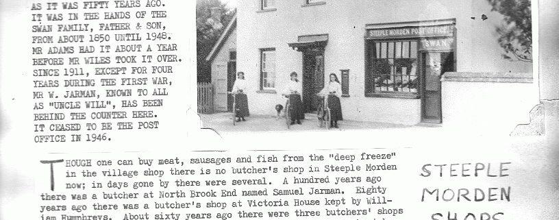 steeple-morden-shops
