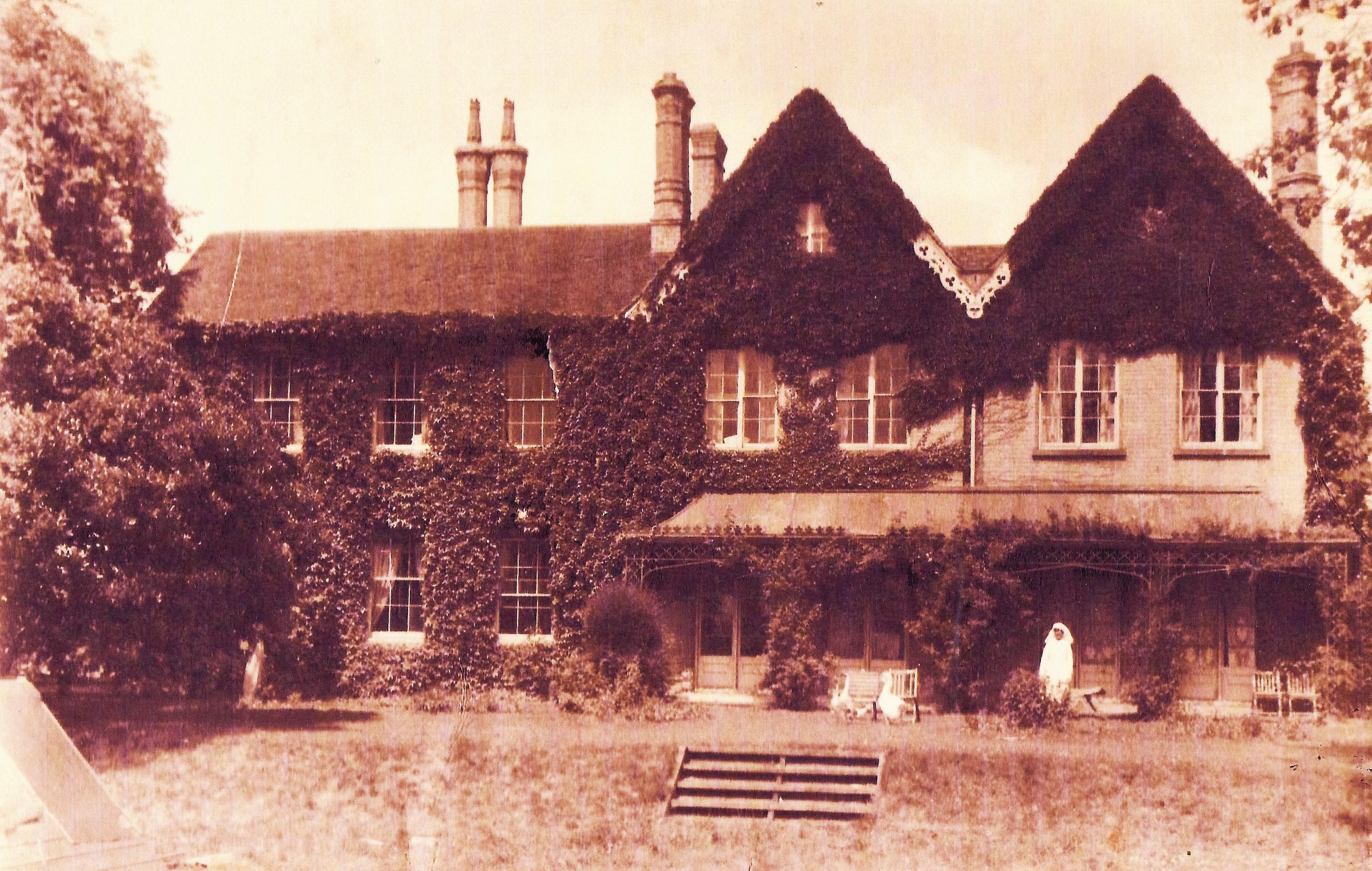 Morden House Then
