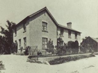 Saville House Then